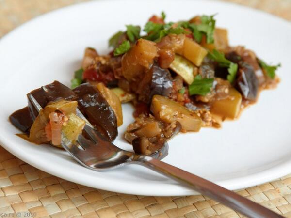 Рецепт рагу с мясом и овощами