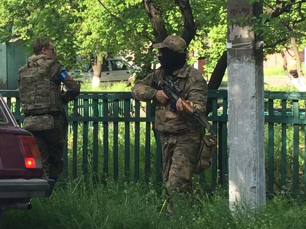 Силовики уничтожили военную базу террористов под Краматорском, - Турчинов - Цензор.НЕТ 5563