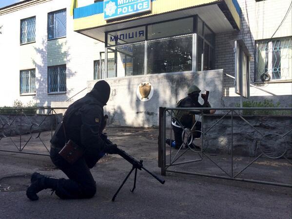 Боевики в Славянске ведут минометный обстрел с территории школы - Цензор.НЕТ 3912