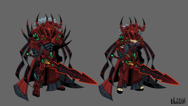 Seems to be some confusion... this set is for AQW. I made some last minute edits. :::) It's in @Alina_AE's hands now! http://t.co/BbA0b6ENcV