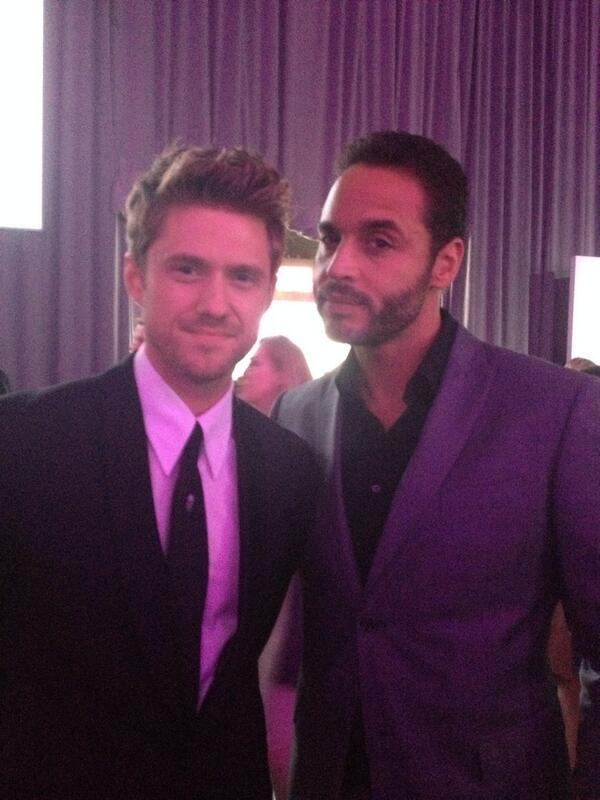 Look who I found! @DanielSunjata and Aaron Tveit! @GracelandTV #NBCUCable http://t.co/lfzWC873Jw
