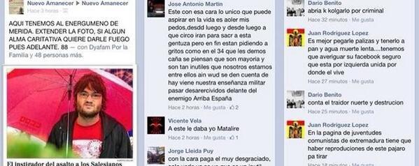 Un valenciano de 19 años, el primer detenido por pedir la muerte de políticos en Internet BntVfuWCYAEbqyd