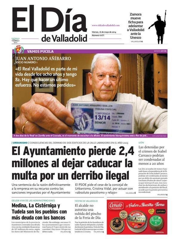 JORNADA 38. REAL VALLADOLID - GRANADA CF. Domingo 18 de mayo. 18:00 - Página 2 BntX-buIQAAIdOP