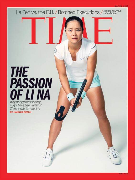 SpiderTech Tape, Li Na, Time Magazine, Kinesiology Tape