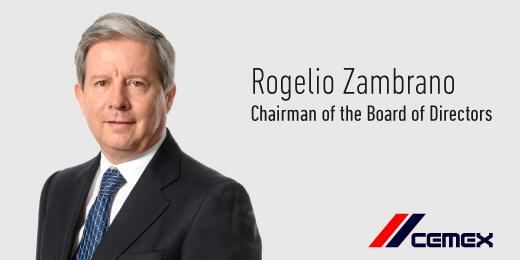 Mr. Rogelio Zambrano Lozano has been named Chairman of the Board of Directors of #CEMEX http://t.co/E4YAv3t6HI