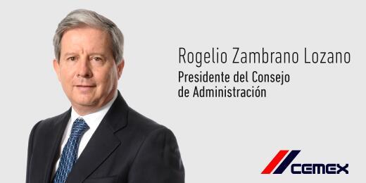 El Ing. Rogelio Zambrano Lozano ha sido nombrado Presidente del Consejo de Administración de #CEMEX http://t.co/Qa7tafb1Xx