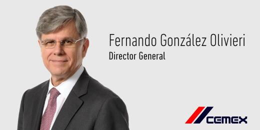 El  Lic. Fernando González Olivieri ha sido nombrado Director General de #CEMEX http://t.co/TIZzSVbGvZ