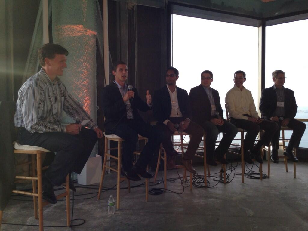 Pictured: SF Tech Intersect panelists (CRE Demand Reduction on the agenda).