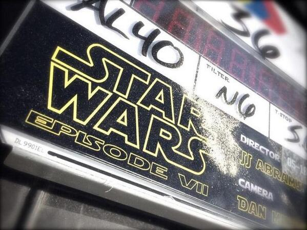 Good God. It's real. RT @CNET: First photo of 'Star Wars Episode VII' revealed http://t.co/RN2VbMwFEy http://t.co/Rqx6r5JCz6