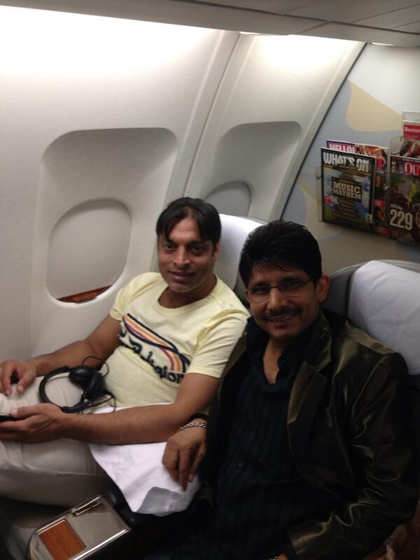"Tweet of the day ""@kamaalrkhan: Modi Ji has won so I am leaving India forever with Shoaib Akhtar. Bye Bye India. http://t.co/r4xrOTkIhR"""