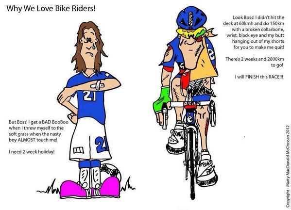 Footballers vs (pro)cyclists http://t.co/TBAHyUzd96