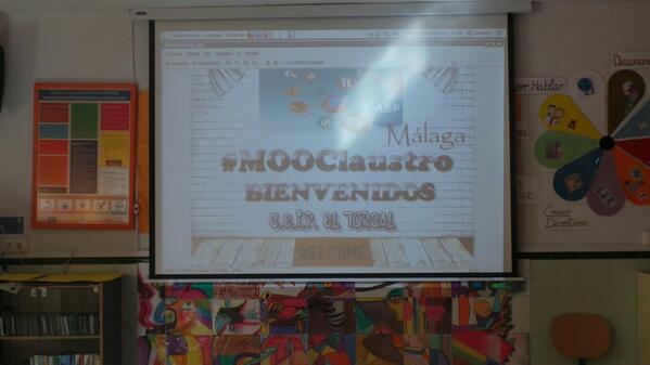 """Buena acogida del CEIP """"El Torcal""""#MOOClaustroMalaga #ABPmooc-intef http://t.co/alU5HhQ6e9"""