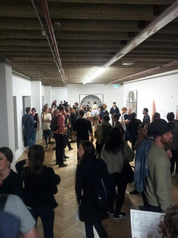 Yesterday's opening at Melbourne's @west_space looking forward to meeting the team next week http://t.co/ngL3Q3lNtA