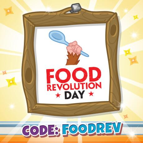It's Food Revolution Day! Show your support by rocking this PAWSOME poster in your Monster's room! #FRD2014 http://t.co/t3o1FSeOQY