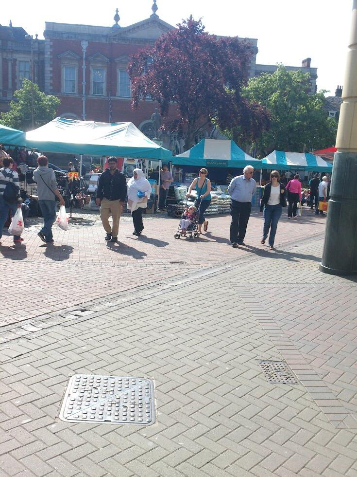 market square Aylesbury