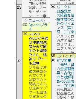 【スタッフよりTV情報】マブヤーがNHK登場ででーじなってる!今夜23時30分NHK総合「NEWSWEB」に!! あなたのツイートが流れる かも!? NEWS WEB 番組ツイートQ&A http://t.co/gdsOLvhFoZ  http://t.co/l09jJ1uWTn