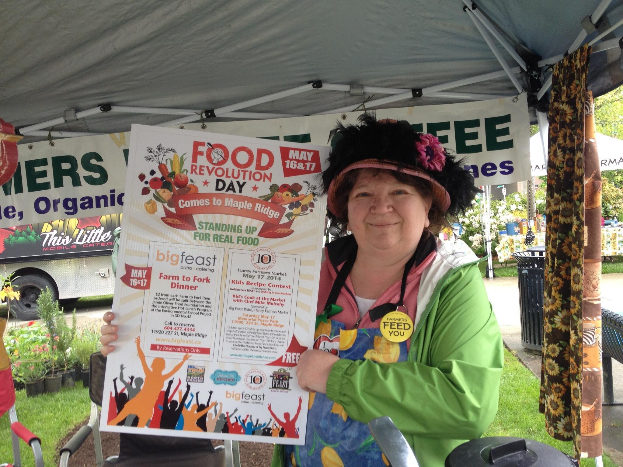Twitter / vicki_mcleod: Join us for Food Revolution ...