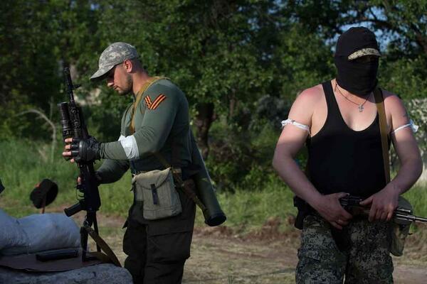 Боевики пытались захватить штаб Нацгвардии в Донецке - Цензор.НЕТ 9754