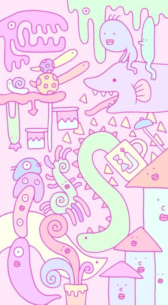 徳田有希 On Twitter ホーム画面イラスト描きました Lineの背景などに