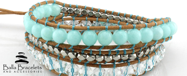 Balla Bracelets On Twitter Our New Serendipity Wrap Http T Co Ql19tz1c4k With Caribbean Blue Stones Stunning Accessories Jewelry Rt