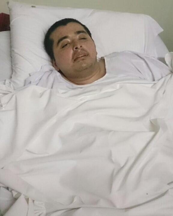 Paralysed Saudi man tweets, nobody is visiting him in hospital.  Hundreds turned up - http://t.co/jEagnbwLzs http://t.co/lZSsmPJSjH