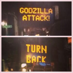 'Watch Dogs' Video Game Will Inspire More 'Godzilla Attack' Road Sign Hacks, Says Cybersecurity Warning