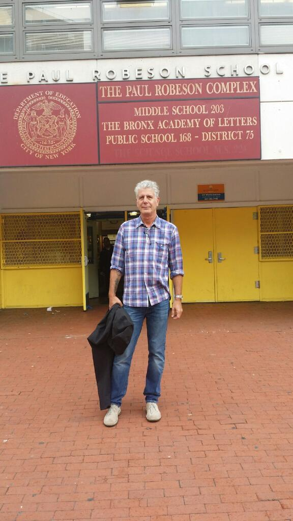 bronx academy of letters anthony bourdain on quot bronx academy of letters ap 20683