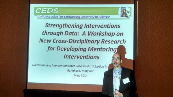 """Standing room only at Understanding Interventions session on """"Strengthening #Interventions through #Data"""" http://t.co/HiJqOPtJGp"""