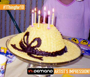#1Thingfor1D FINALIST 3 - Lauren - I would literally eat my hat to see 1D. I'd bake a hat cake, wear it, then eat it! http://t.co/wQofhL9ZUu