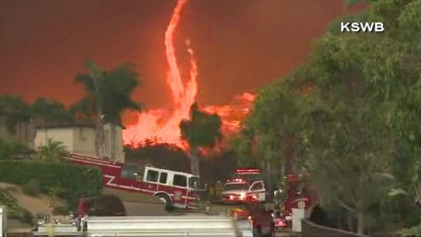 ICYMI: Photogallery of the #firenado in San Diego County yesterday http://t.co/SqKBBPdPf7 http://t.co/1JV1NMQo5w