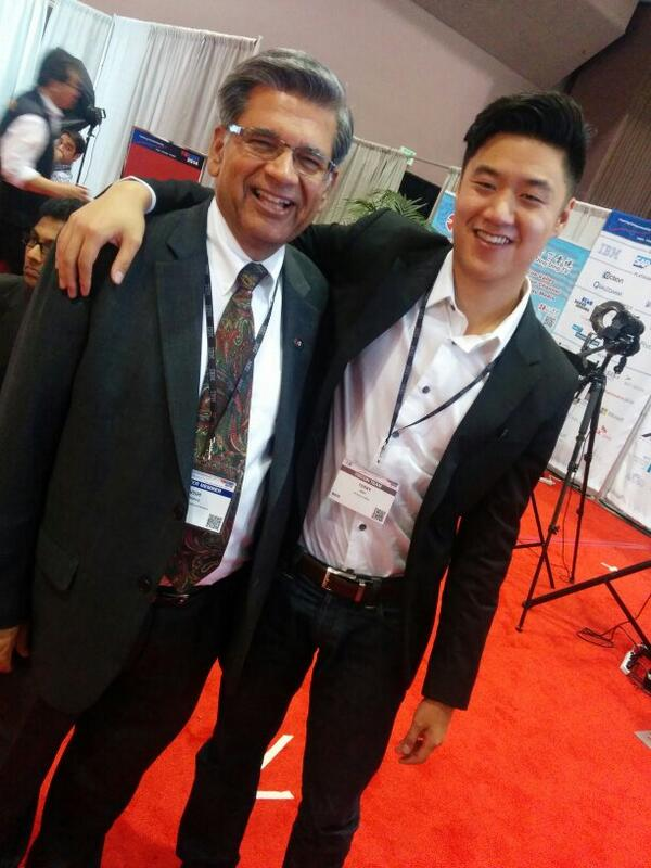 With silicon valley's living legend @tievish at #tiecon 2014! http://t.co/6akcikGKRd