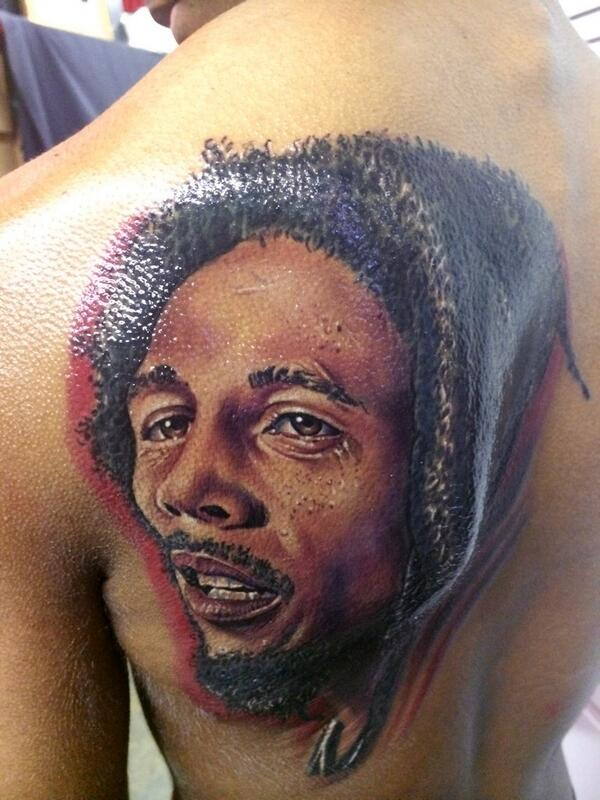 Mindlessbehavior Fan On Twitter Rayray Bob Marley Tattoo Httpt