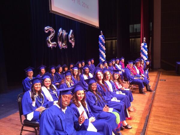 Nursing graduation #ECCGrad http://t.co/yaiju6qQ82