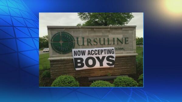 Ursuline Academy senior prank:
