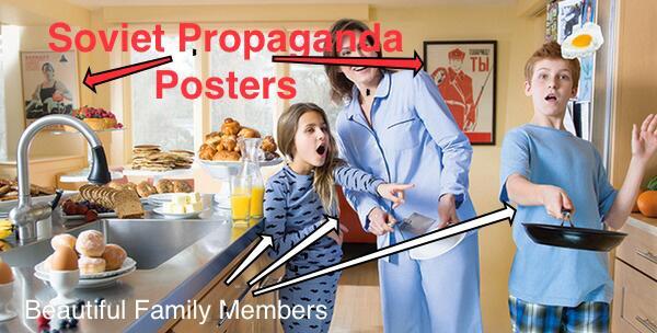 Jay Carney USSR propaganda posters