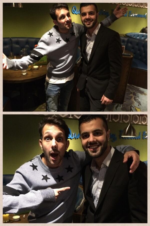 Was good to see @Dynamomagician after a long time..Good Catch up http://t.co/fCEEakfC2t