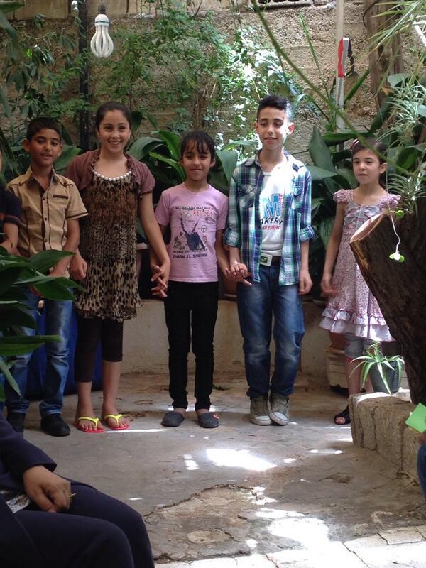 Excited with Ruwwad day preparations #JO @RuwwadJo @nakhweh @Sha3teely joyful and hopeful work :) http://t.co/C4AhNc0jgp