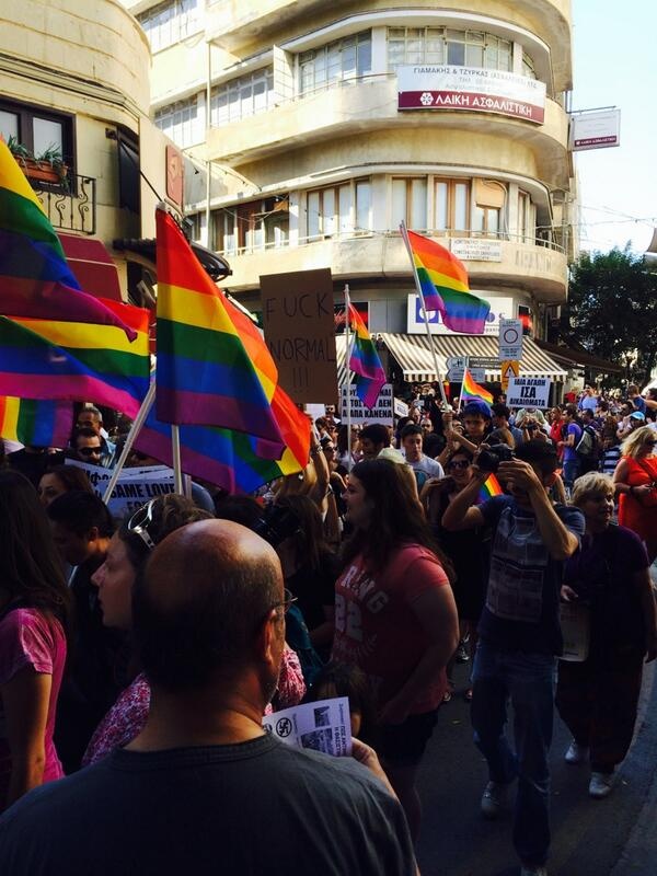 Thumbnail for Photos: Cyprus Holds First Ever Pride Parade -- Turnout Is Huge