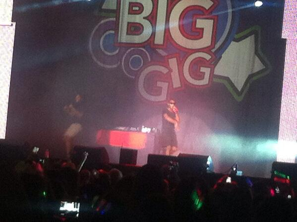 @TinieTempah You were soo great today ❤️ we all loved you