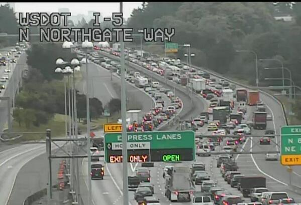 Here's a look at the I-5 express lanes. They really aren't going to help. http://t.co/XtQLM8AyWJ