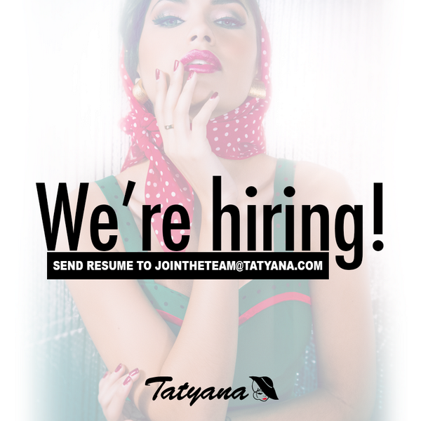 ATTN FASHION LOVERS! We're #hiring in Boston, New York & Arcadia, California. Send resume to jointheteam@tatyana.com! http://t.co/WyRpSNpB0x