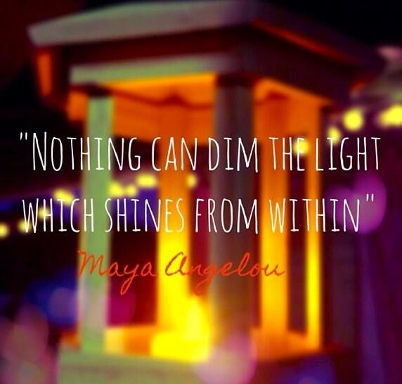 Nothing can dim the light which shines within. - #MayaAngelou  #quote http://t.co/T9P34wz91I