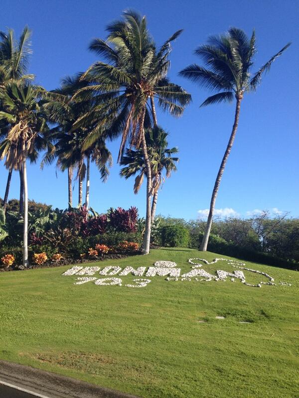Triathlon venues don't get much dreamier than @IronmanTri Hawaii 70.3. Excited to race here on Saturday! http://t.co/NcIHMz4FNN