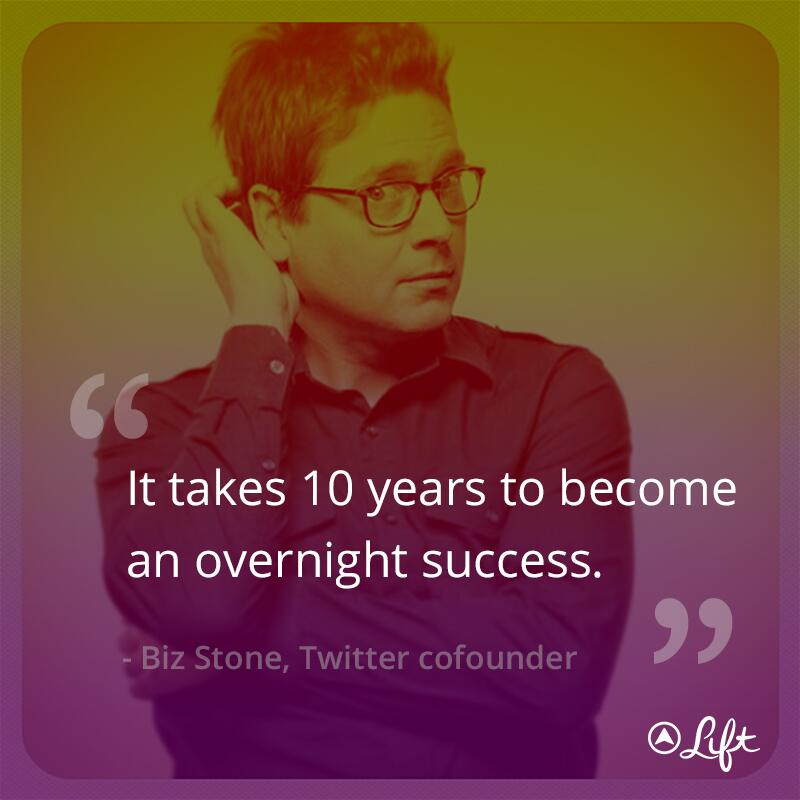 Slikovni rezultat za i have worked for 10 years before achieving overnight success