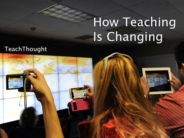 Twitter / ccilearning: How teaching is changing? Find ...