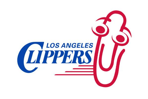 Now that Steve Balmer has bought the LA Clippers, here is their new logo ;) http://t.co/DuLnx3WfD3