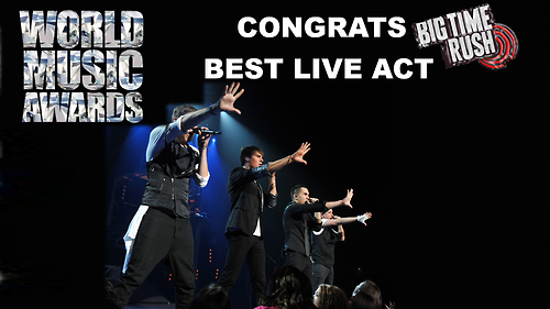 "World Music Award for ""Best Live Act"" goes to @BigTimeRush @HeffronDrive @jamesmaslow @1LoganHenderson @TheCarlosPena http://t.co/YZo2XRoCHX"