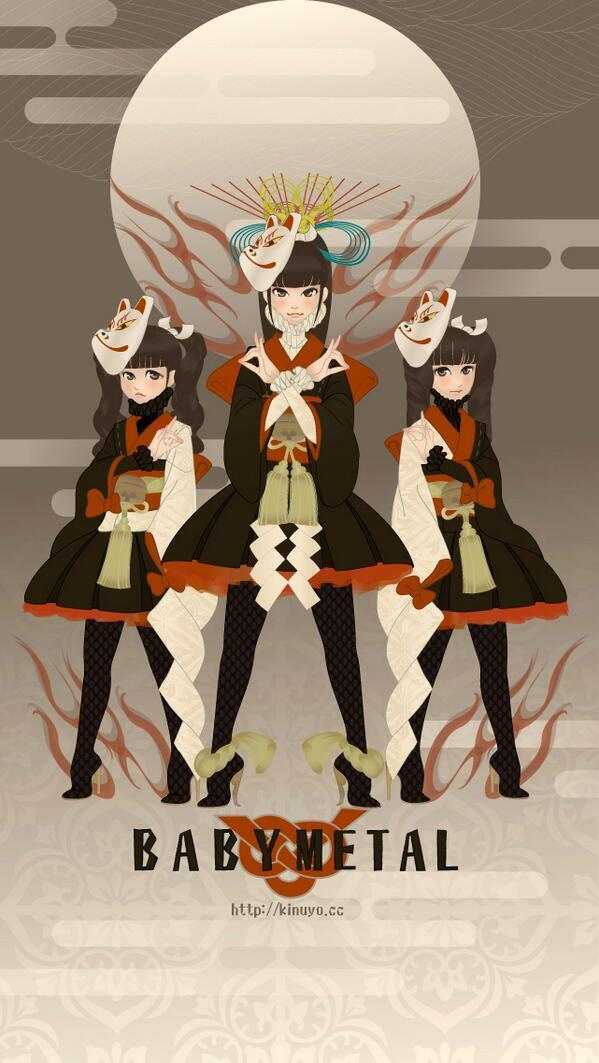 Another Piece Of Awesome Babymetal Fan Art Babymetal