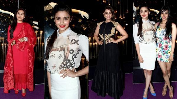 Stars At DIVA NI Designer - #AliaBhatt   #Parineet   #RaniMukherji    http://t.co/PnhEARDEQ3 http://t.co/EtBbD7Qdzf