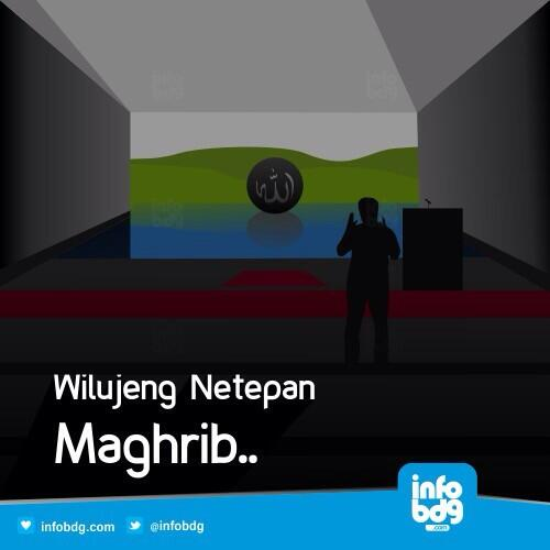 Bandung ᮘᮔ ᮓ On Twitter Adzan Maghrib Utk Wilayah